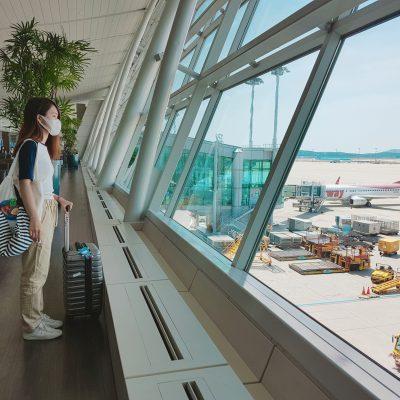 Cô Tiên mang gì khi đi sân bay?